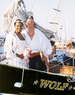Wedding Aboard Ship