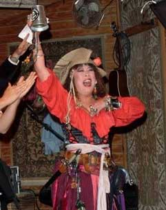Pirate Re-enactors at Pirates in Paradise